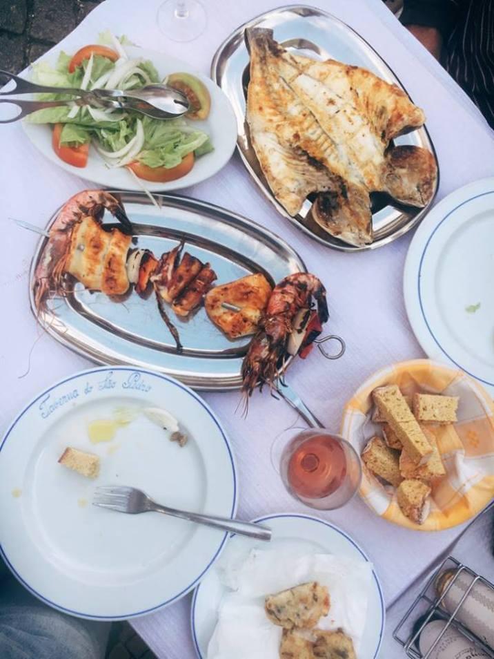 Fresh seafood, Portugal.