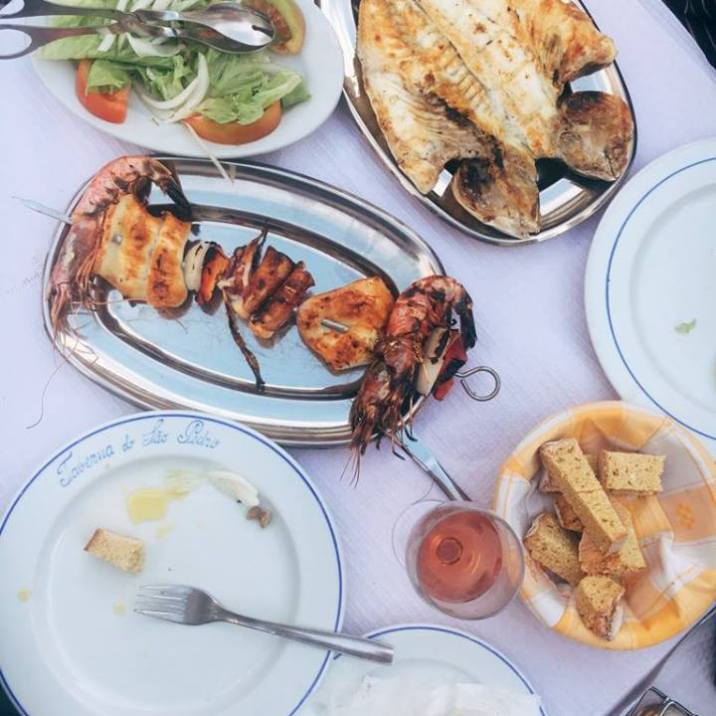Fresh seafood, Portugal.