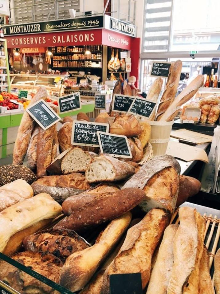 Bread always, France.